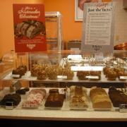 Photo of Caramel Apples and Fudge on display