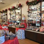 Interior picture of the store with family activity time