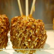 Picture of a Kilwins Turtle Caramel Apple