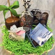 Picture of a variety of gift baskets