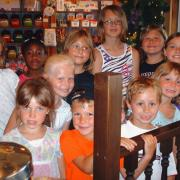 Picture of children at Kilwins Big Rapids