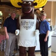 """A picture of the Kilwins """"Moose"""""""