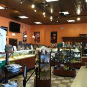 Photo of inside of Kilwins Panama City Beach, FL store showing products on display