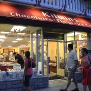 Photo of Kilwins Rehoboth Beach Storefront at Night