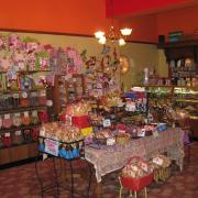 Interior photo of the store