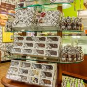 Picture of a chocolates display table