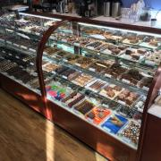 Picture of the Chocolates and Made in Store products cases