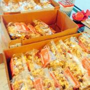 Boxes of Bagged Caramel Corn