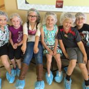 A picture of children on the Kilwins Chocolate Tour