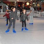 Photo of children ice skating
