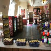 Photo inside Celebration, FL store showing product displays