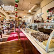 Photo of Fudge Case inside Kilwins Wheaton store