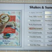 Photo of Shakes & Sundaes Menu Board