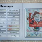 Photo of Beverage Menu Board