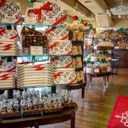 Photo of boxed chocolates on shelves