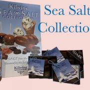 Graphic of Kilwins Sea-Salt collection of chocolates
