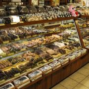 Photo of Chocolates Case in Kilwins Ft. Lauderdale store