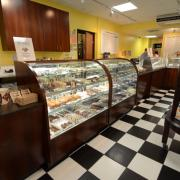 Photo of store interior and candy counter
