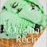 Kilwins Mint Chocolate Chip Ice Cream