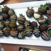 Picture of hand dipped chocolate Strawberries