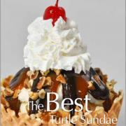 A picture of Kilwins Turtle Ice Cream Sundae