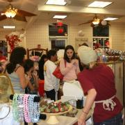 Photo of customers shopping in Kilwins Tradition, FL store