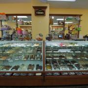 Photo of Chocolates Case inside Kilwins Rehoboth Beach Store