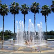 Photo of fountain in Celebration, FL