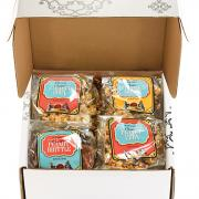 A picture of gift boxes