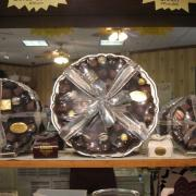 Small, Medium, and Large Chocolate Platter are available for a great party gift