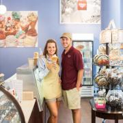 Picture of the owners of Kilwins Greenville