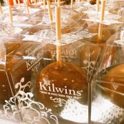 Caramel Apples in Boxes