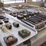 Photo of Kilwins products on trays