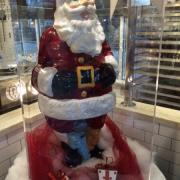 Photo of large Chocolate Santa