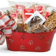 Photo of Holiday Gift Basket full of Kilwins products