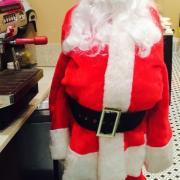 The Kilwins Santa comes in all shapes and sizes