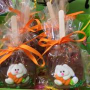 Picture of Rice Krispie treats themed for Easter