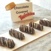 Photo of Chocolate dipped Twinkies